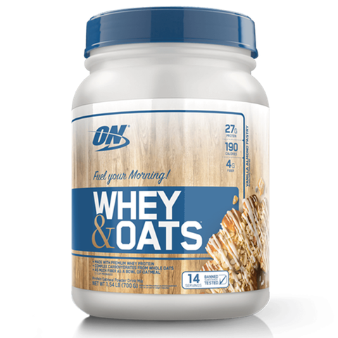 Whey & Oats - Optimun Nutrition 700grs