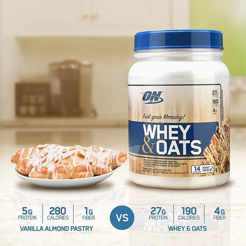 Whey & Oats - Optimun Nutrition 700grs en internet
