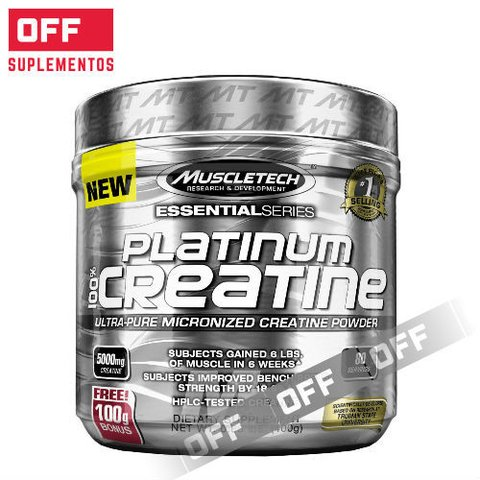 PLATINUM CREATINA  400Grs  80 SV - MUSCLETECH
