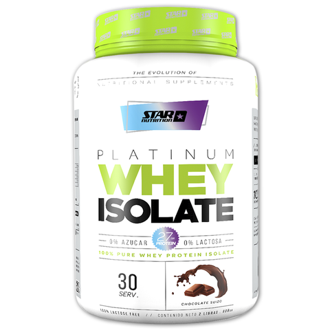 PLATINUM WHEY ISOLATE 1 Kg - STAR NUTRITION