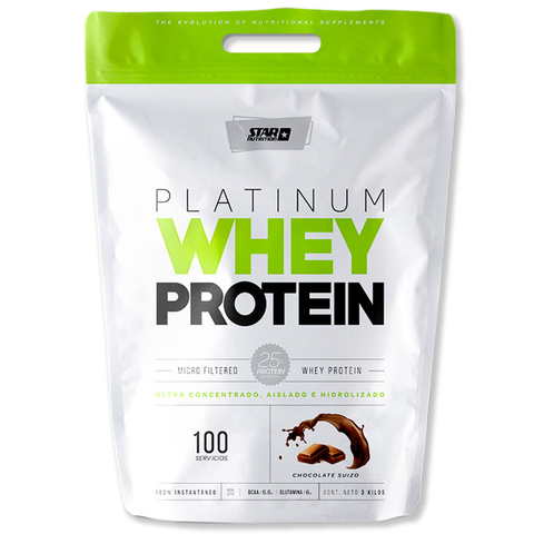 PLATINUM WHEY PROTEIN 3 Kg -STAR NUTRITION