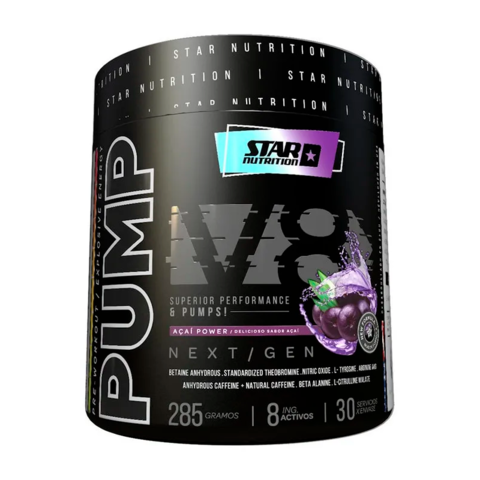 PUMP V8 NEXT GEN 285 grs - STAR NUTRITION