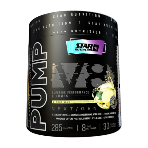 PUMP V8 NEXT GEN 285 grs - STAR NUTRITION - comprar online