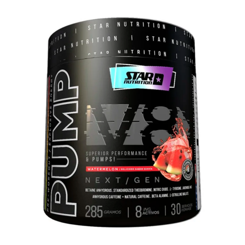 PUMP V8 NEXT GEN 285 grs - STAR NUTRITION - Off Suplementos