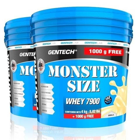 WHEY MONSTER SIZE 7900 5 Kg - GENTECH