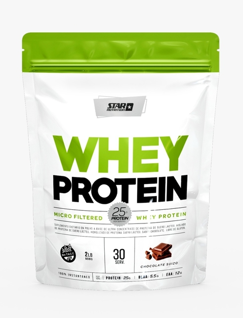 WHEY PROTEIN 2 LB DOY PACK - STAR NUTRITION