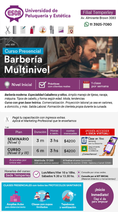 Barbería multinivel 630 en internet