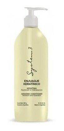 Enjuague keratinico System 1070 ml
