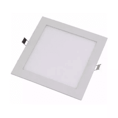 Panel Slim LED de embutir 24W cuadrado Frio en internet