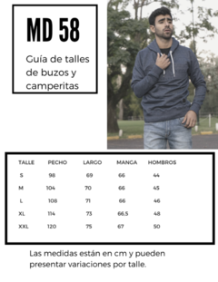 Buzo Tricolor Authentic Supply MD58 & Jeans x 8 Unidades - tienda online