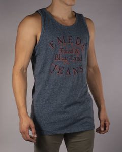 Musculosa MD Travel Blue Land - tienda online