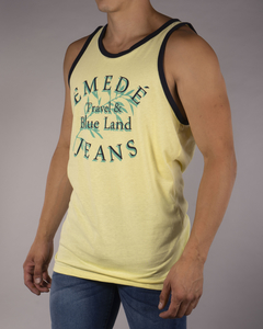 Imagen de Musculosa MD Travel Blue Land