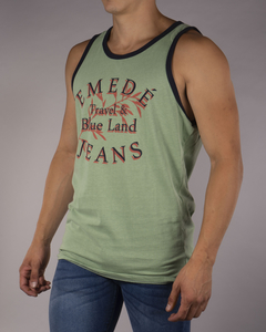 Musculosa MD Travel Blue Land - MD58