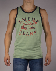 Musculosa MD Travel Blue Land en internet