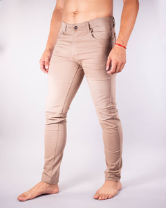 Pantalón Scotty Slim Fit Tostado - comprar online