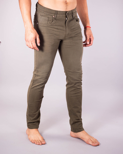 Pantalón Scotty Slim Fit Verde Militar x 10 unidades