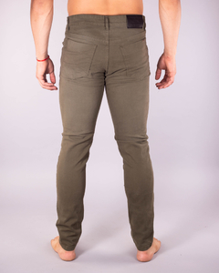 Pantalón Scotty Slim Fit Verde Militar x 10 unidades - MD58