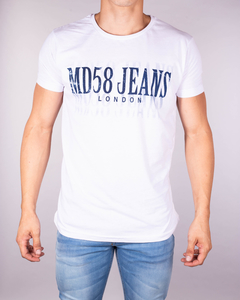 Remera MD58 Jeans London Visual Distortion
