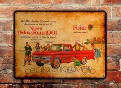Chapa rústica Ford Pick Up 1961 - comprar online