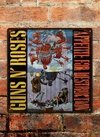 Chapa rústica Guns N' Roses Appetite for Destruction - comprar online