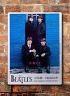 Chapa rústica The Beatles London Palladium Royal Performance. Año 1963