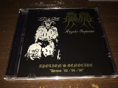 Apolion's Genocide - Demos 92 94 96 Cd  - BLACK HEARTS RECORDS