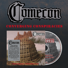 Combo Comecon - 2 Cds Digipak Prévenda - BLACK HEARTS RECORDS