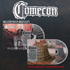 Combo Comecon - 2 Cds Digipak Prévenda