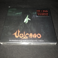 VULCANO - THE AWAKENING OF AN ANCIENT AND WICKED SOUL - A TRILOGY CD+DVD
