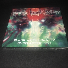 Necromantia/Varathron - Black Arts Lead to Everlasting Sins CD Slipcase