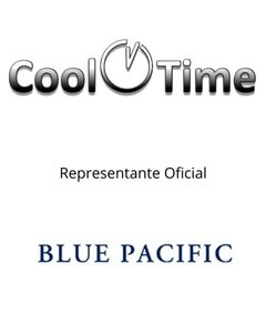 Anteojos De Sol Unisex Blue Pacific Fbi Protección Uv - Cool Time