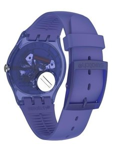 Reloj Swatch Mujer Purple Rings Suov106 Sumergible Silicona - Cool Time
