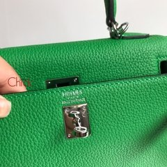 Bolsa Kelly 28 Verde Italiana na internet