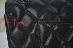 Bolsa Classic Flap All Black - Italiana - Bolsas Chick Oficial