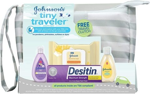 Kit de Viagem Baby Johnson´s Tiny Traveler USA