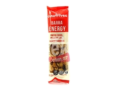 "Barra energy de frutos secos y pasas ""Nutrivec"""