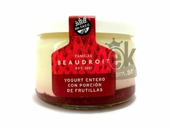 "Yogurt entero con frutillas ""Beaudroit"""