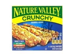 "CAJA DE BARRITAS DE GRANOLA MIX 6 U. ""NATURE VALLEY"""