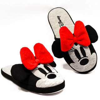Chinelo Pantufas Minnie Laço - Disney