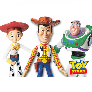 Bonecos Vinil Buzz Wood Jessie Toy Story 18cm - Disney