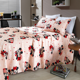 Kit Colcha Casal Piquet Mickey e Minnie Love Queen - Disney - comprar online