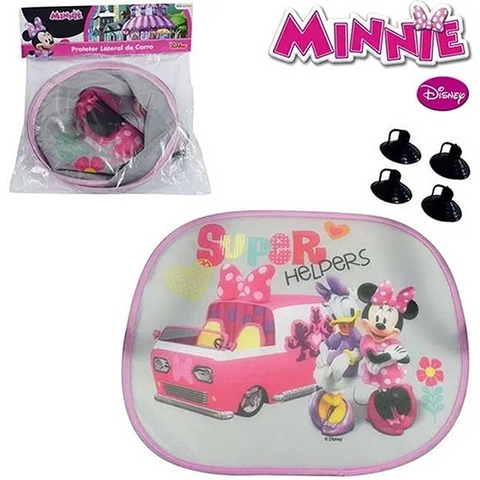 Protetor Solar Lateral de Carro Minnie - Disney
