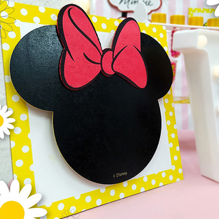 2 Quadros MDF Minnie Mouse - Disney