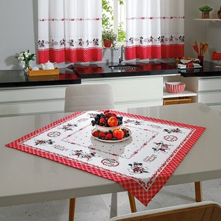Toalha de Mesa Mickey e Minnie Love - Disney