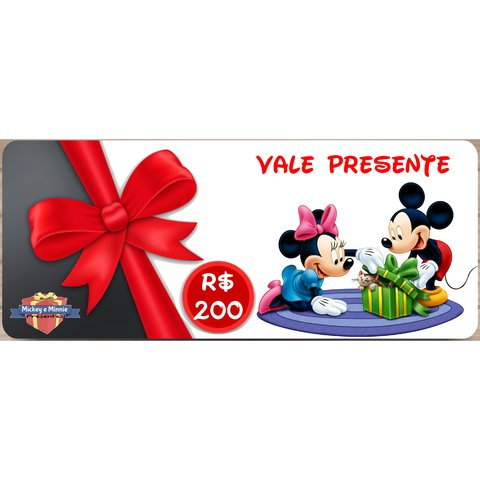 vale-presente-mickey-e-minnie-presentes-200-reais
