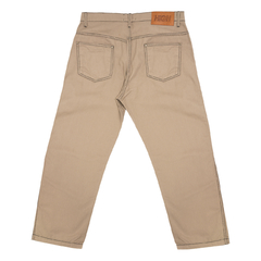 CALÇA HIGH CHINO PANTS COLORED BEIGE - comprar online