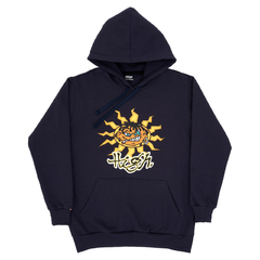 MOLETOM HIGH JUNGLIST NAVY