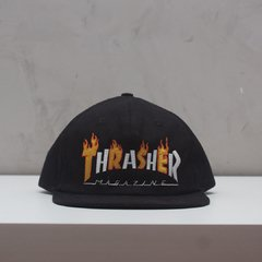BONE THRASHER FLAME MAG BLACK