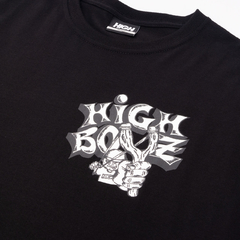 CAMISETA HIGH SLINGSHOT BLACK na internet