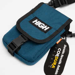 WALLET BAG HIGH REFLECTIVE LOGO NIGHT GREEN